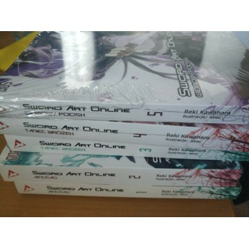 Sword Art Online Light novel tomy 1-5