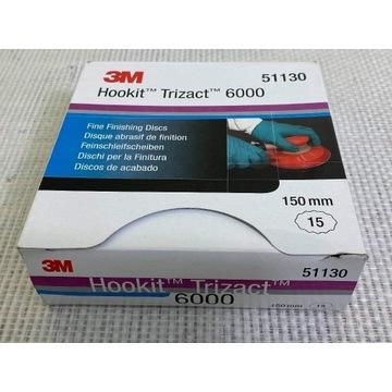 Krążek ścierny Hookit Trizact P6000 150mm 3M 51130