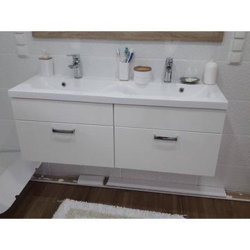 Szafka umywalkowa z umywalką 120x40 DUO