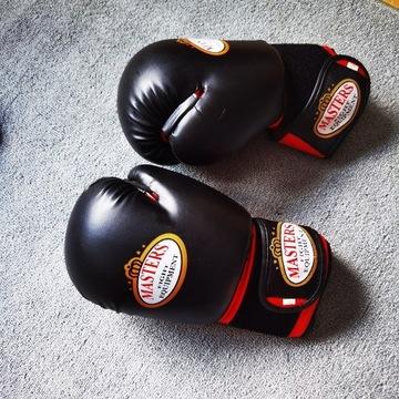 Rękawice i ochraniacze na stope oraz piszczel 14oz