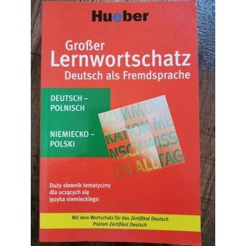 Großer Lernwortschatz Deutsch als Fremdsprsche