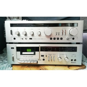 Sansui A-7 wzmacniacz stereo + deck Sansui D-95M