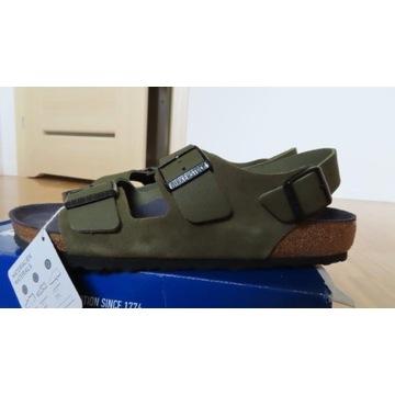 sandały Birkenstock Milano nowe 43