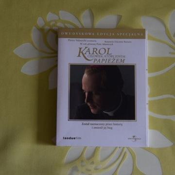 """DVD """"Karol - człowiek, który został Papieżem"""""""