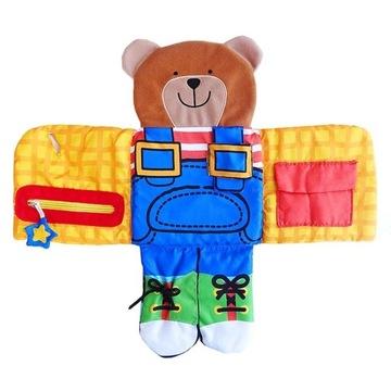 Niedźwiadek D3 sensoryczna / edukacyjna ubieranie