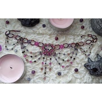 Gotycka kolia goth gothic hand Made witch cosplay