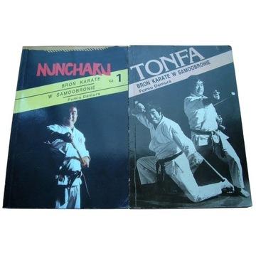 Fumio Demura - NUNCHAKU + TONFA broń karate w samo