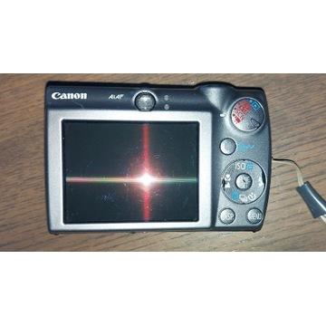 Aparat Canon PC1209 uszkodzony.
