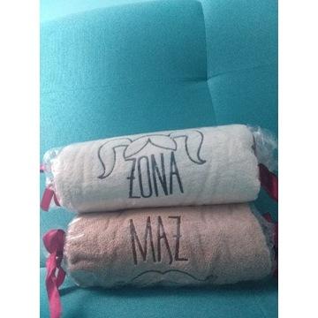 Komplet ręczników Żona & Mąż