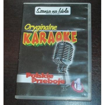 Polskie Przeboje Oryginalne Karaoke DVD