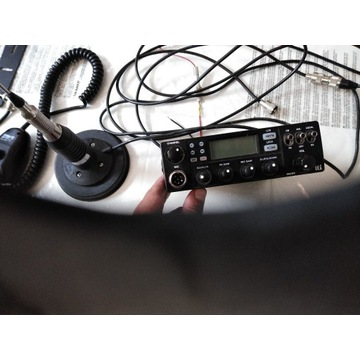 Komplet CB radio i antena