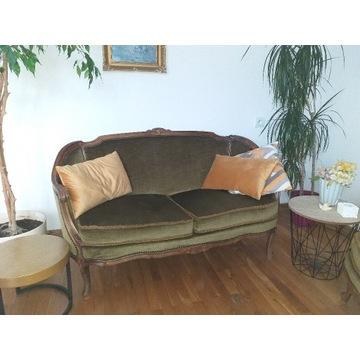 Stylowa kanapa i fotel