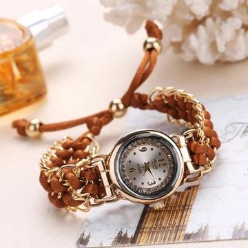 Piękny stylowy elegancki damski zegarek od 1zł