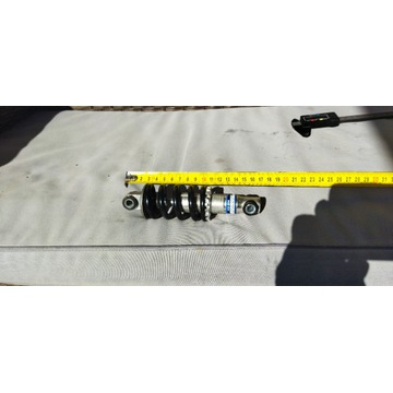 Amortyzator tylny 150mm damper sprężyna alu