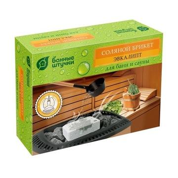 """Brykiet solny z ziołami """"Eukaliptus"""", 1300 g"""