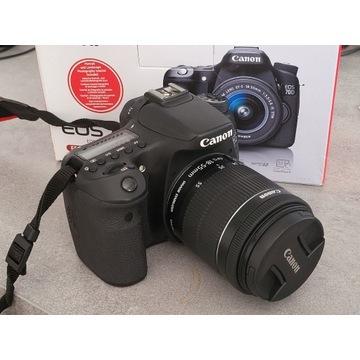 Canon EOS 70D + Obiektyw EF-S 18-55