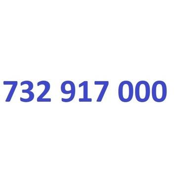 732 917 000 starter play ładny złoty numer