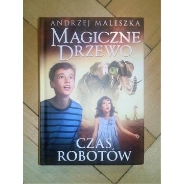 Magiczne Drzewo Czas robotów Andrzej Maleszka