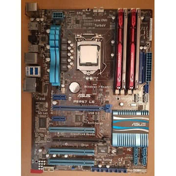 i7 2600k + ASUS P8P67 + 16GB DDR3 KINGSTON HYPER X
