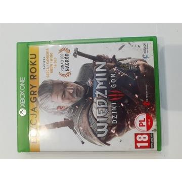 Wiedźmin 3 Dziki Gon edycja gry roku Xbox One