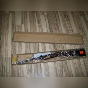 Wiatrówka KLASYCZNIE ŁAMANA drewniana 5,5 mm