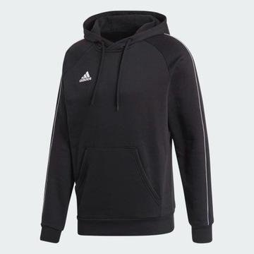 Bluza z kapturem Adidas Core 18 czarna