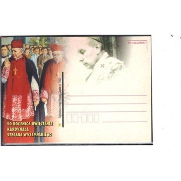 50 r. uwi. Stefan Wyszyński - Jan Paweł II - Chełm
