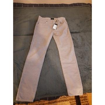 nowe spodnie męskie Wólczanka beżowe
