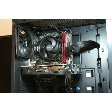 Ryzen 3100, 16GB RAM, RX570, SSD 250GB, 500W, SG1