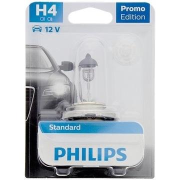 Reflektor przedni samochodowy Philips H4 | 12 wolt