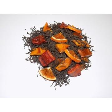 Herbata czarna liściasta egzotyczna mango 50g
