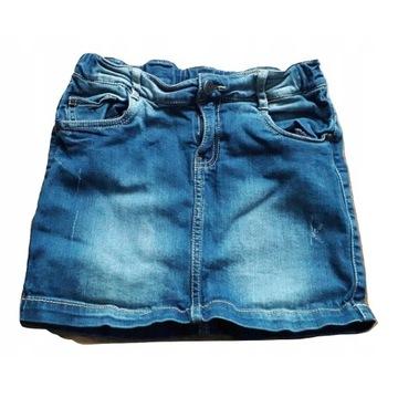 Spódniczka jeans 146/152 Mini
