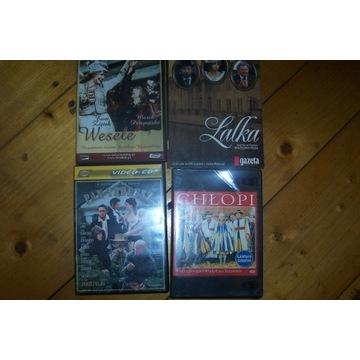 Wesele/Pan Tadeusz/Chłopi płyty VCD/DVD