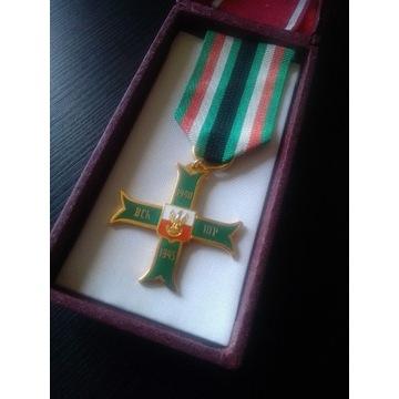 Krzyż Batalionów Chłopskich Oryginał stan idealny!