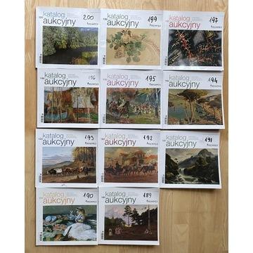 Katalogi Aukcyjne REMPEX 2013 - 11 sztuk