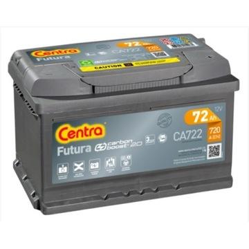 AKUMULATOR CENTRA FUTURA P+ 72AH 720A CA722