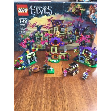KOMPLETNY Lego Elves 41185 Magiczny ratunek wioski