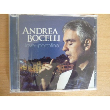 ANDREA BOCELLI , LOVE IN PORTOFINO CD