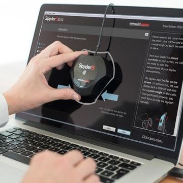 Profesjonalna usługa kalibracja ekranu monitora
