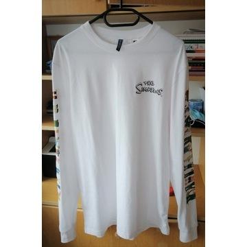Koszulka z długim rękawem H&M The Simpson M