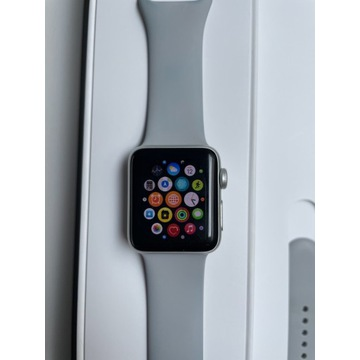Apple Watch series 3 38mm Silver Aluminium