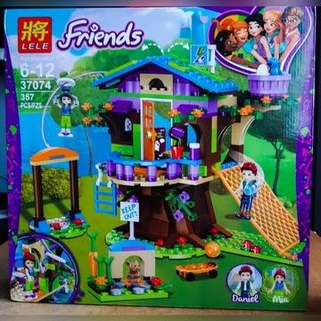 Klocki Friends Domek na drzewie kompatybiln z Lego
