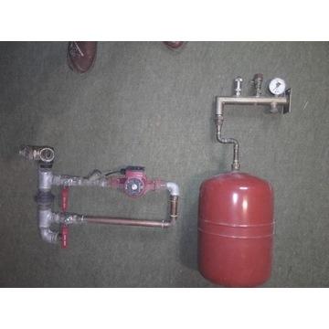 pompa wodna do pieca węglowego+ dodatki