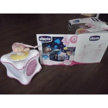 Chicco, projektor,tęczowa kostka dla dziecka