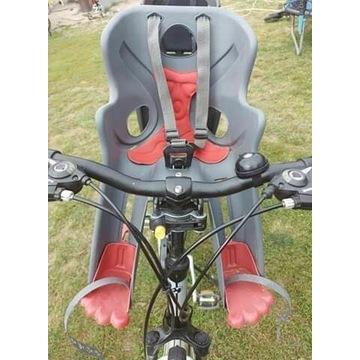 Fotelik na rower , montaż z przodu 15 kg Bellelli