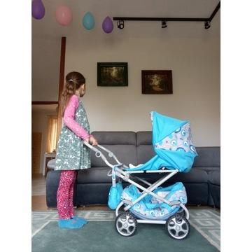 wózek dla lalki, lalek
