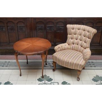 Unikalny fotel z przełomu XIX/XX wieku