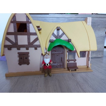 PROMOCJA Oryginalny domek Śnieżki i 7 krasnoludków
