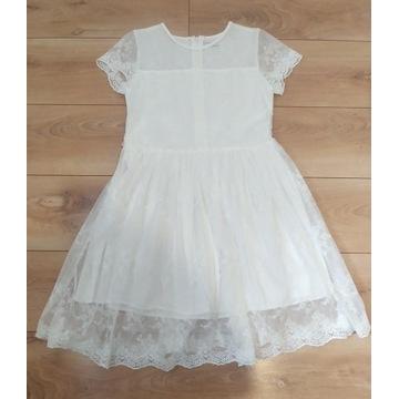 Koronkowa sukienka Reserved rozmiar 164