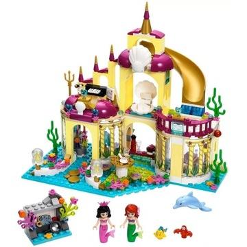 Klocki Syrenka Ariel Pałac zamek ksiezniczka